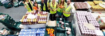 FareShare Cymru redirect surplus food to the plates of people who need it